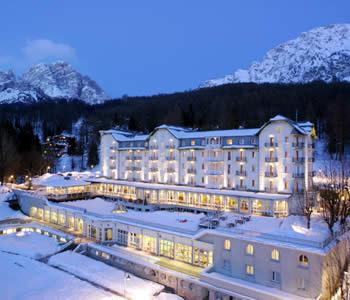 Hotel cristallo di cortina d ampezzo piccolipiaceri - Hotel a cortina d ampezzo con piscina ...