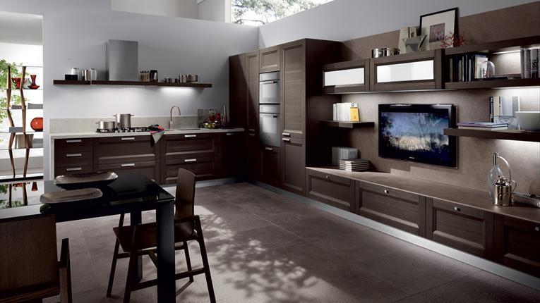comunicati stampa - Ambiente Unico Cucina Soggiorno Casa