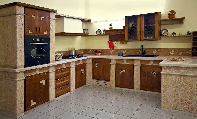 Comunicati stampa - Esempi di cucine in muratura ...